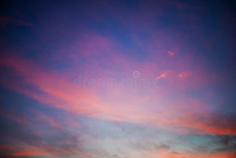Dusk Sky Background stock image