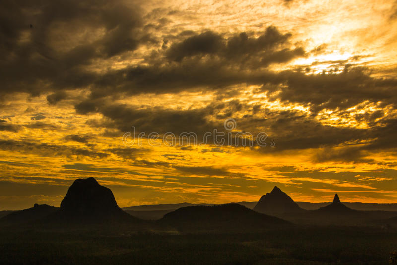Download Dusk Sunset stock photo. Image of orange, subtropical - 60086322