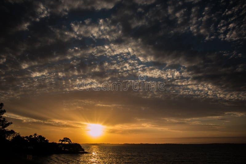 Dusk Sunset royalty free stock photography