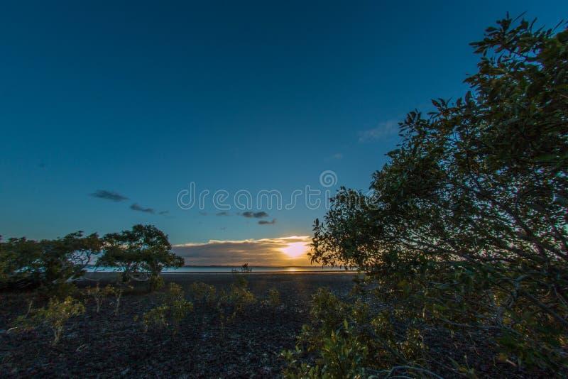 Dusk Sunset royalty free stock photo