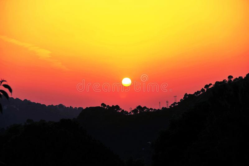 The Dusky Evening royalty free stock photos