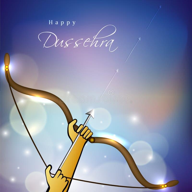 Dussehra background. vector illustration