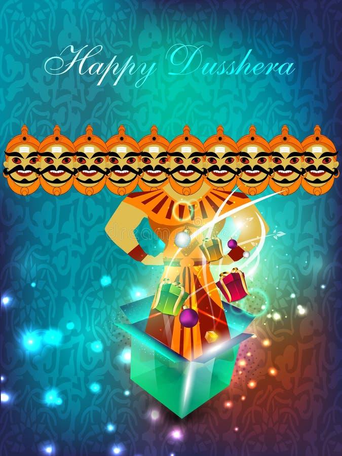 dussehra festival background  stock vector