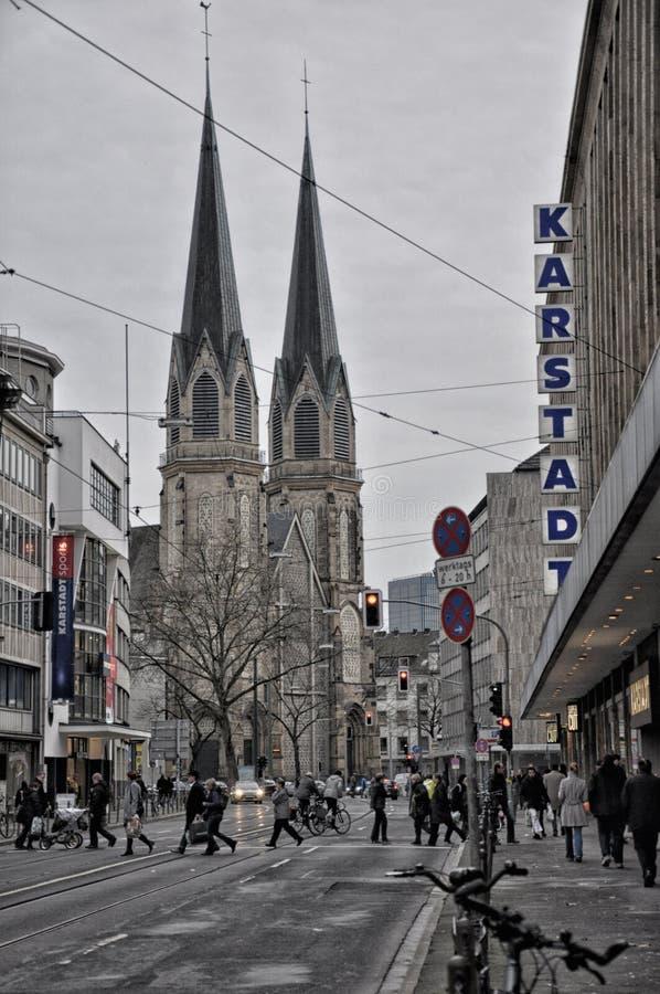 dusseldorf стоковое фото rf