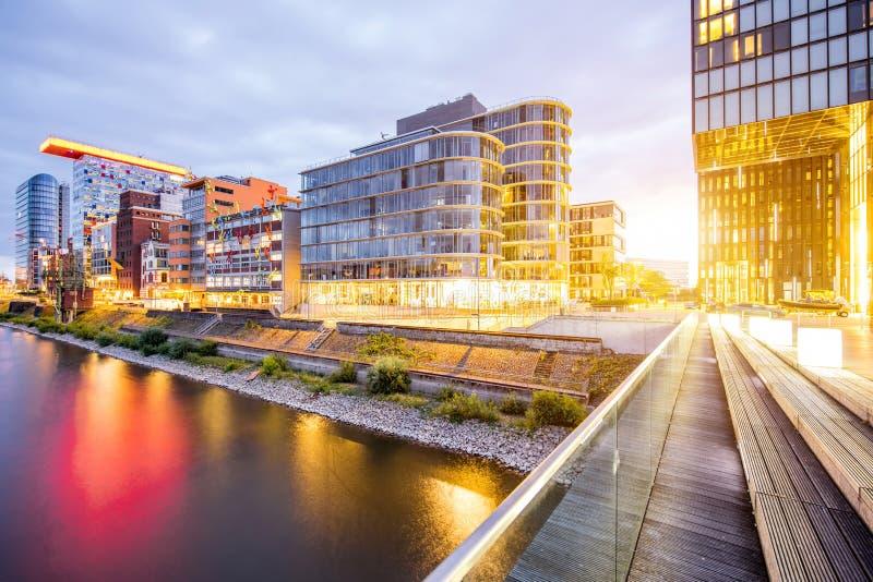 Dusseldorf city in Germany stock image