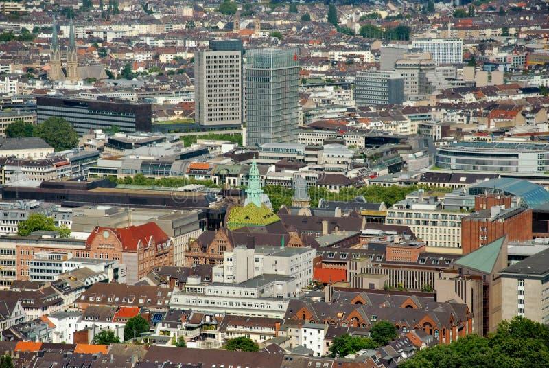 Dusseldorf de ci-avant photo libre de droits