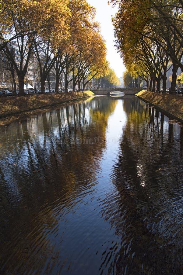 Free Dusseldorf - Ditch Koenigsallee Stock Photos - 106645133