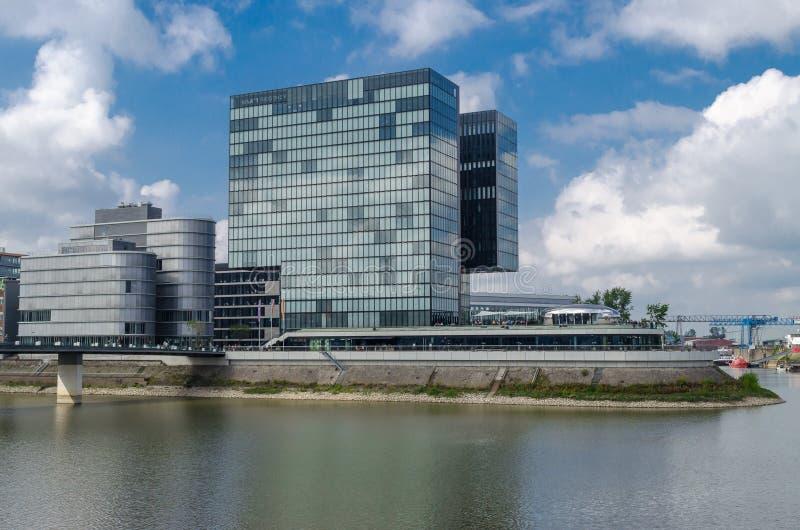 Dusseldorf, Duitsland - September 14, 2014 het Hotel Hyatt Regency stock foto's