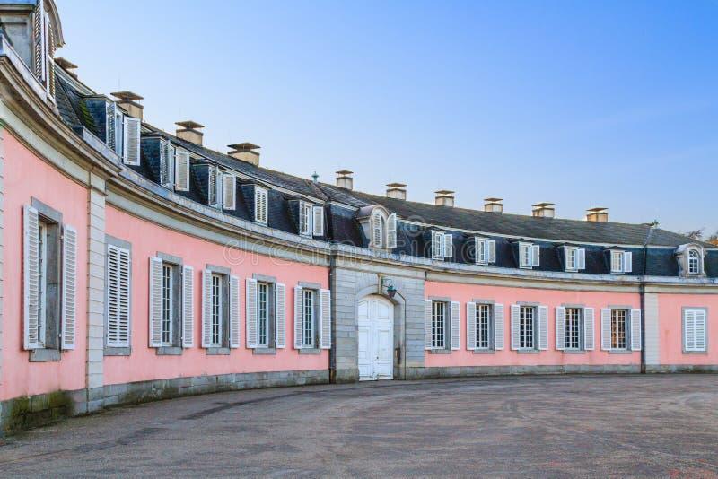 Dusseldorf, Nordrhein-Westfalen, Deutschland - 22. Januar 2017 Schloss Benrath stockbilder