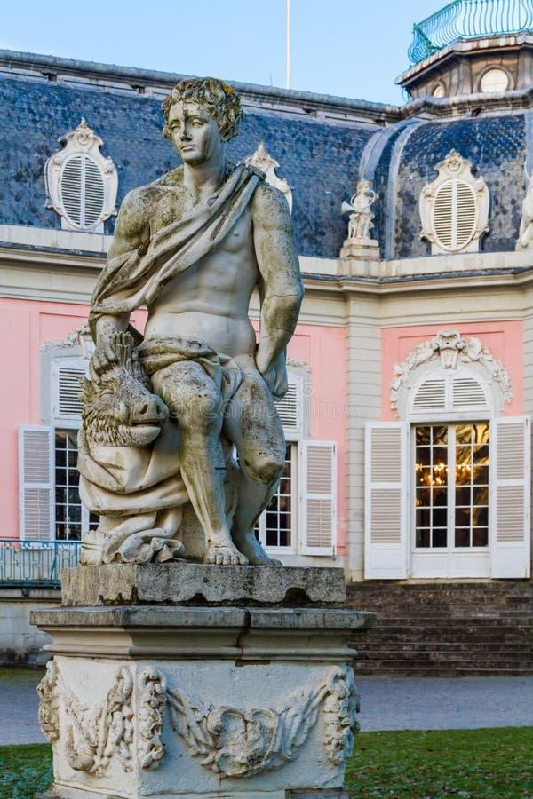 Dusseldorf, Nordrhein-Westfalen, Deutschland - 22. Januar 2017 Schloss Benrath stockfoto