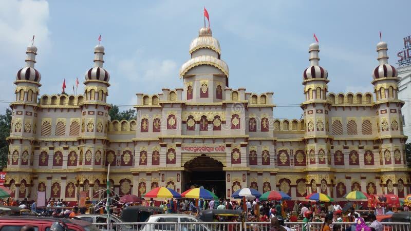 Dussera festiwal Bhubaneswar obraz royalty free