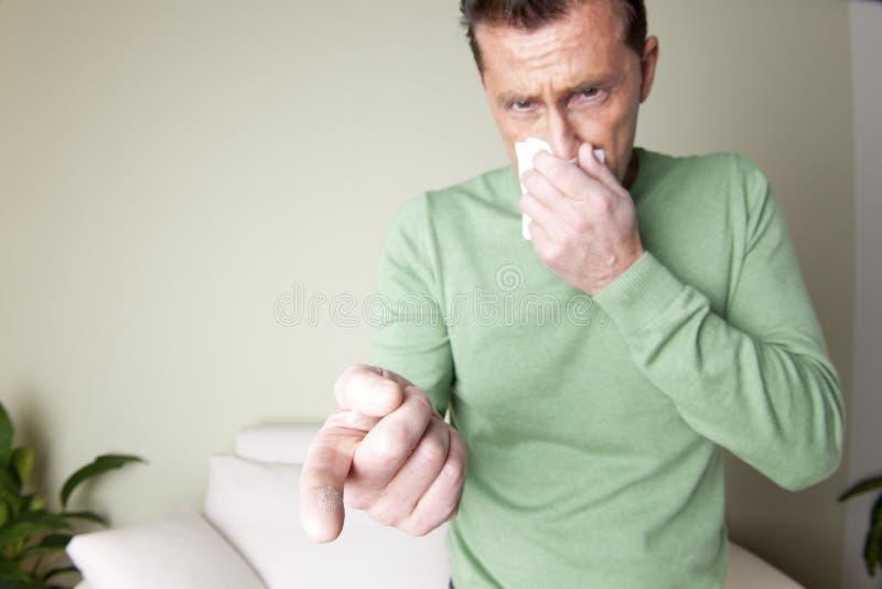 Dust Allergy stock photography