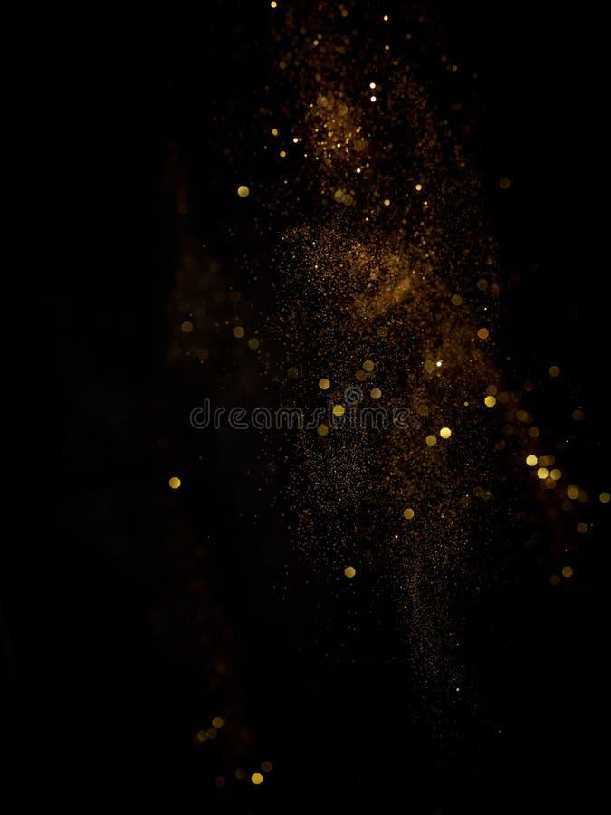 Dust Bokeh. A useful bokeh based on a splash derivative of a powder stock photo
