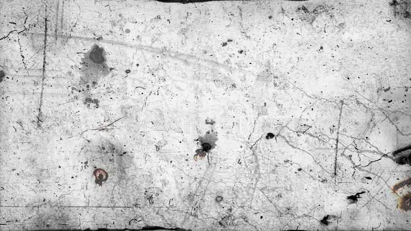 Dust and scratches - 16:9 ration. Useful like grunge and retro background vector illustration
