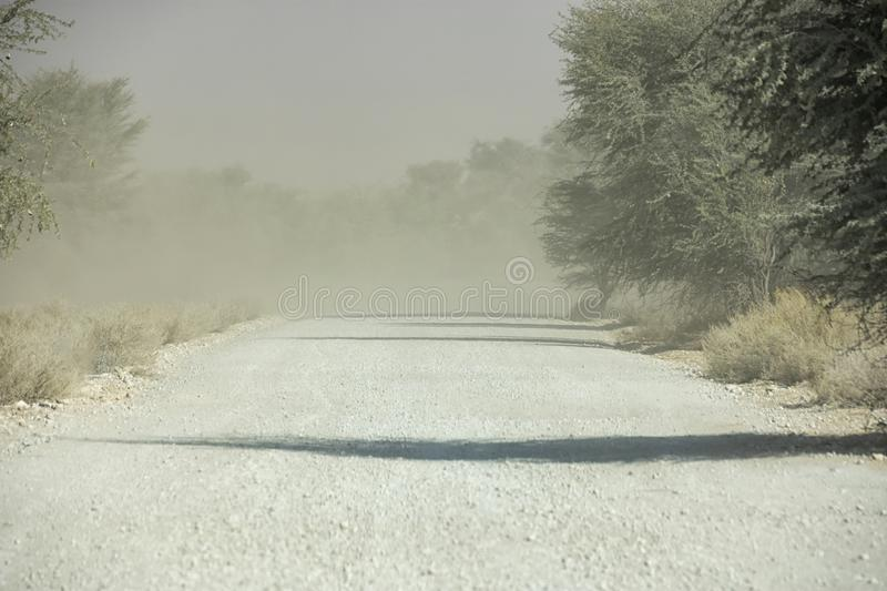 Dust Storm royalty free stock image