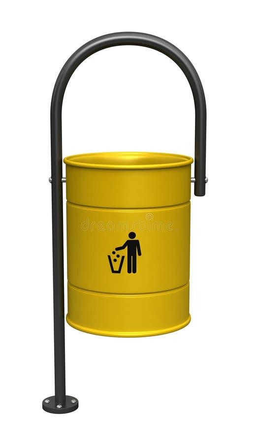 dustbin иллюстрация штока