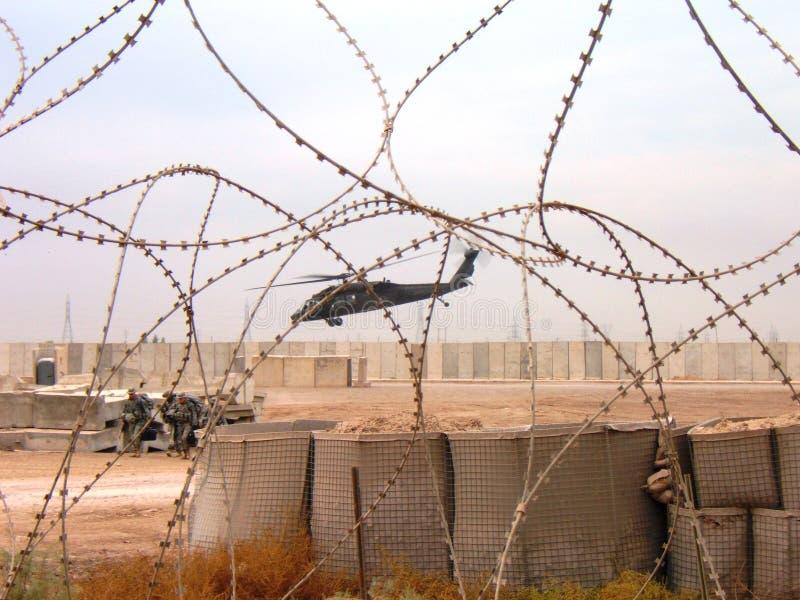 dustoff Iraku wojnę obraz royalty free