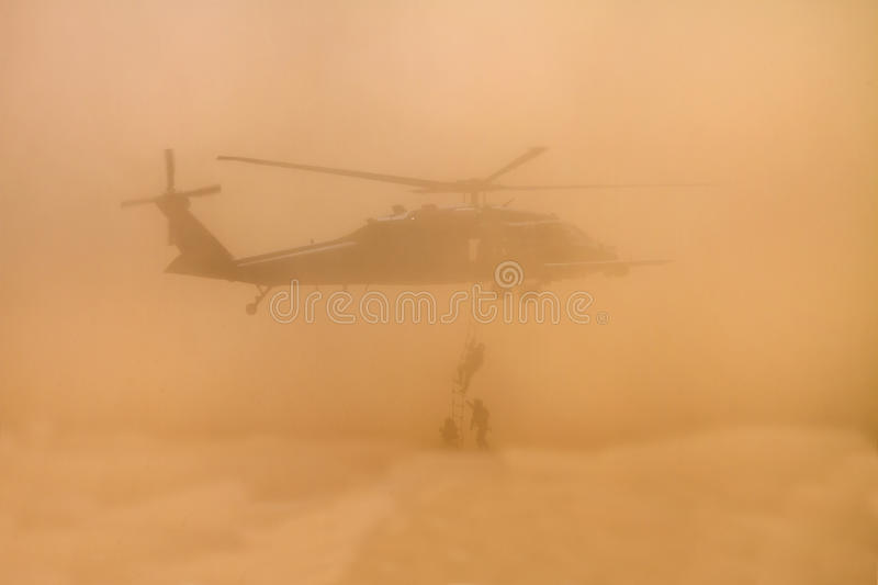 Download Dusty Marine Unit Search Rescue Training Editorial Stock Image - Image: 24411004