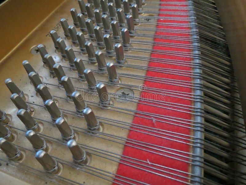 Dusty Piano royalty-vrije stock foto