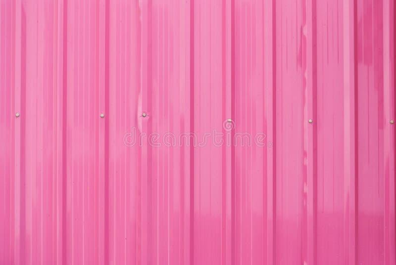 Dusty Pink Metal Sheet Background/Textuur royalty-vrije stock fotografie