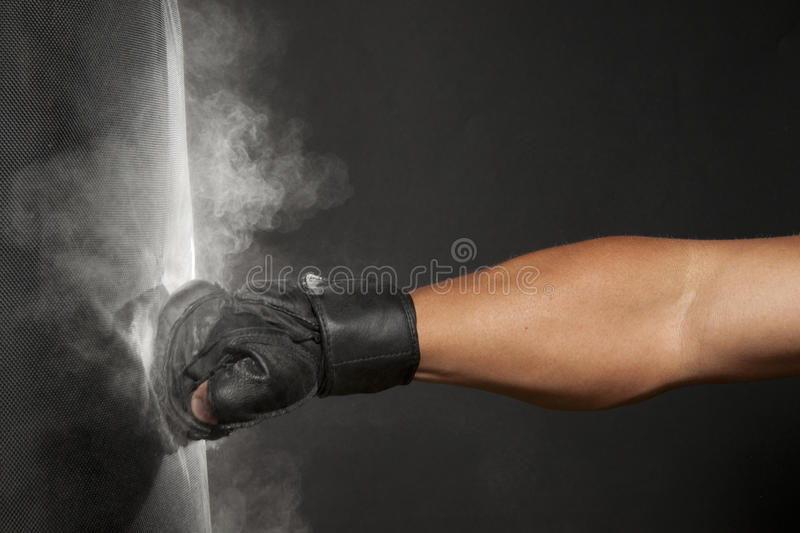 Download Dusty Punch stock photo. Image of olympian, fisting, antico - 16360532
