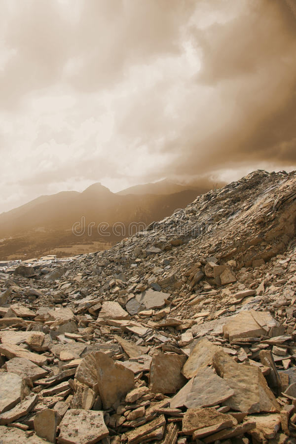 Dusty Quarry Royalty Free Stock Images