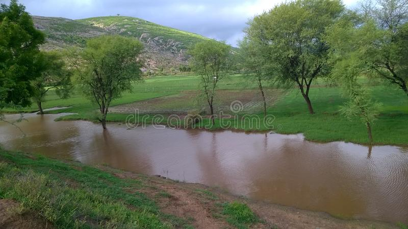Dusty River Nature HD royalty free stock photography