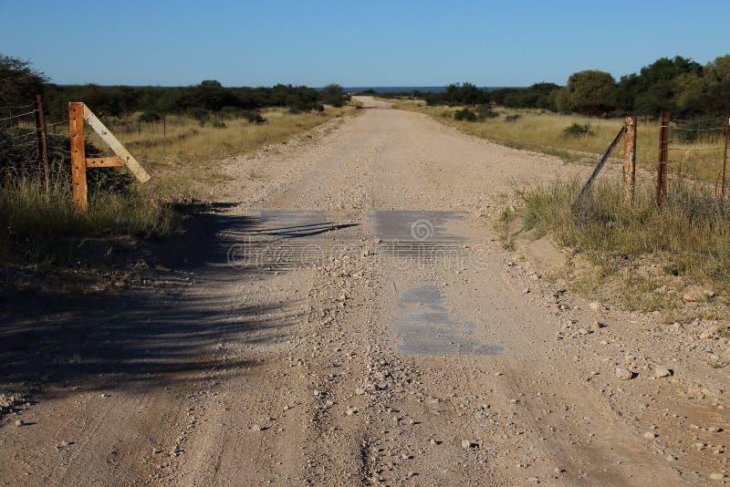 Dusty Road lizenzfreies stockbild