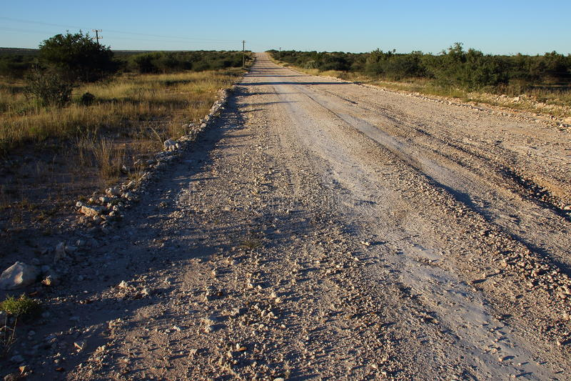 Dusty Road stockfotografie