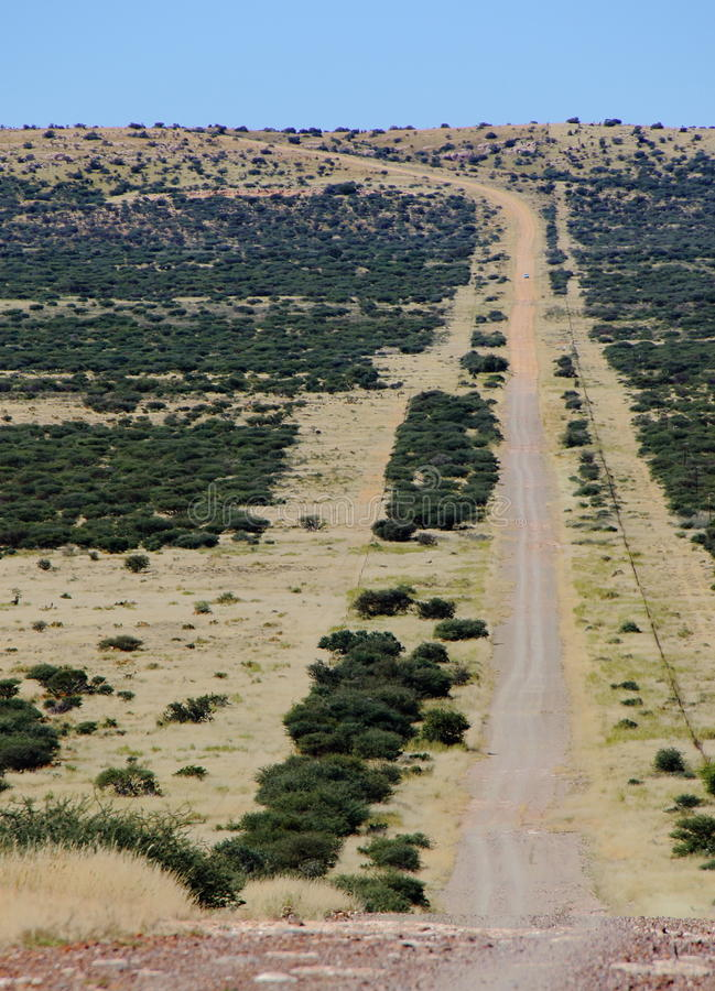 Dusty Road lizenzfreie stockfotos