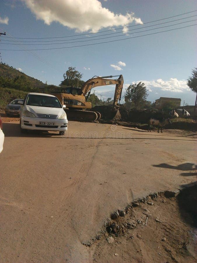 Road maintenance stock photos