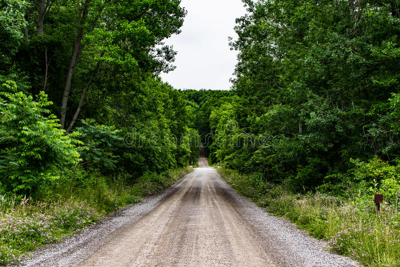 Dusty roads stock image