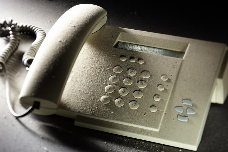 Download Dusty telephone stock photo. Image of connection, electrical - 22327416