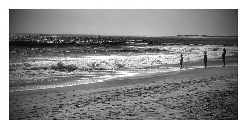 Duszy plaża obraz royalty free
