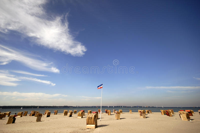 Download Dutch beach in Germany stock image. Image of leisure - 11187171