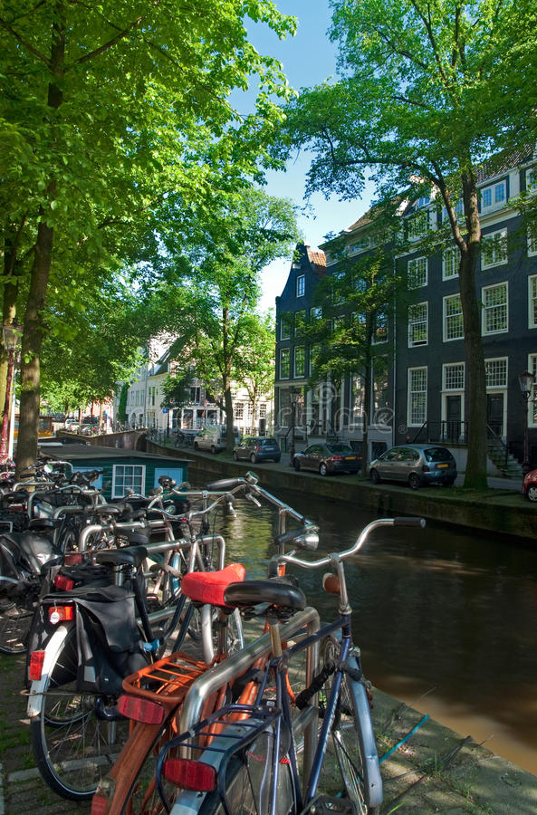 Download Dutch Bicycles stock photo. Image of netherlands, architecture - 26055116