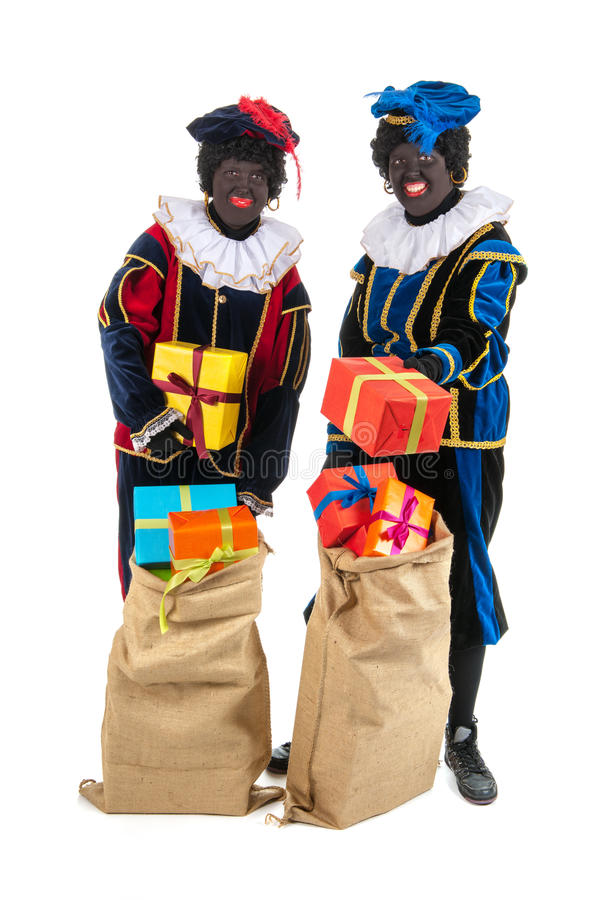 Download Dutch black petes stock photo. Image of persons, costume - 27647652