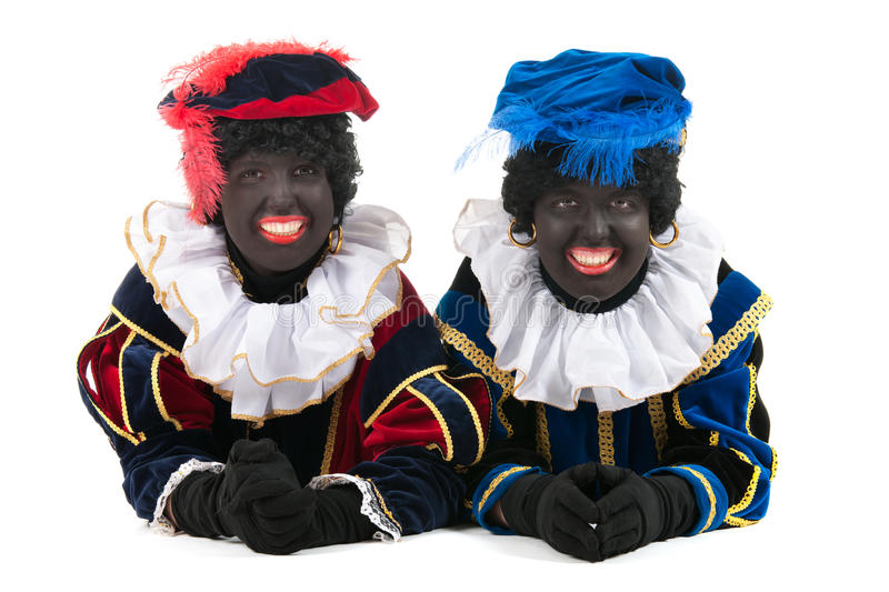 Download Dutch Black Petes Laying At The Floor Royalty Free Stock Images - Image: 27647639
