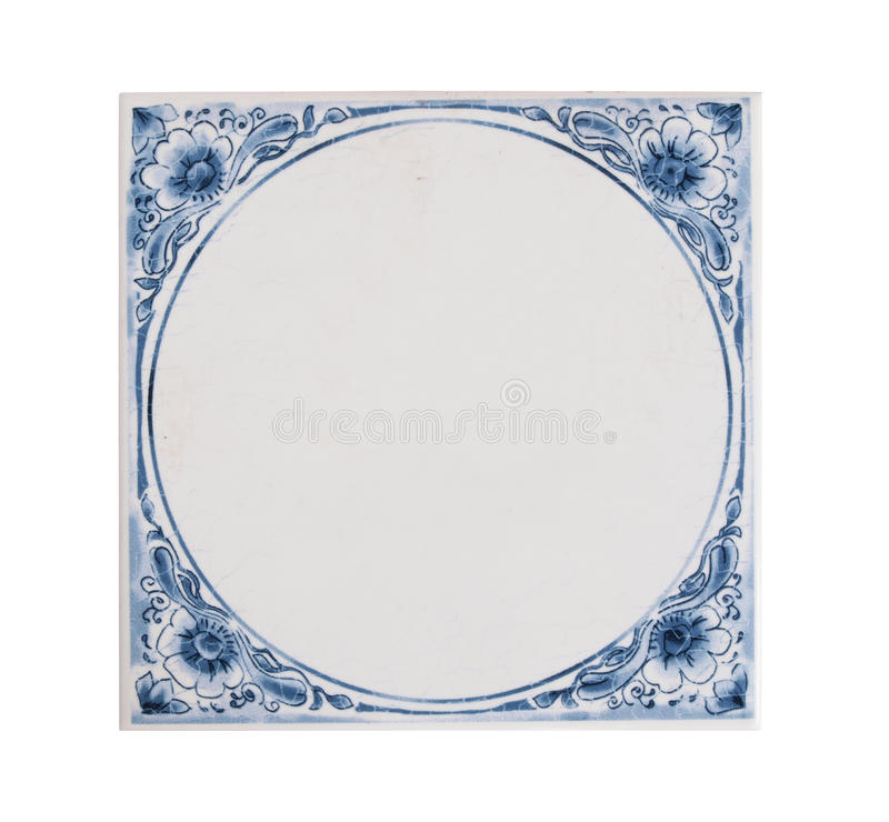 Free Dutch Blue Tile Royalty Free Stock Photography - 23049887