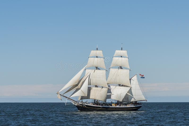 Dutch brig Morgenster royalty free stock photography