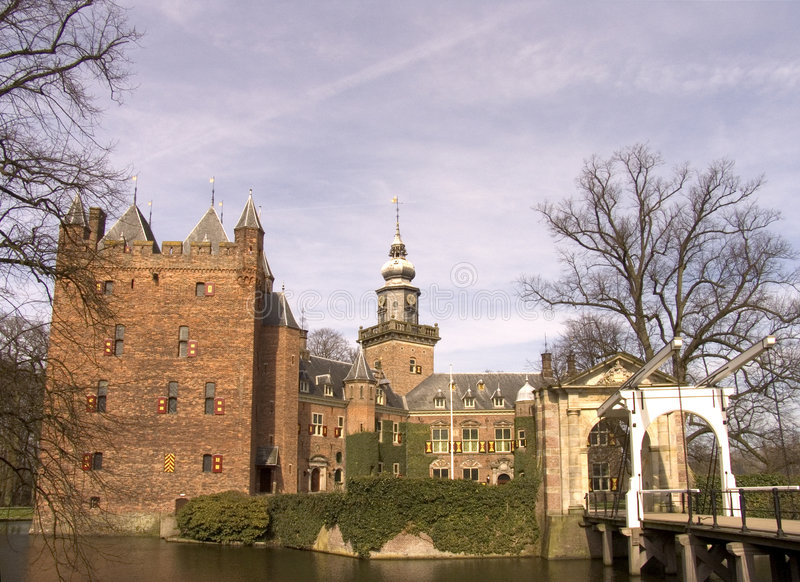 Dutch castle 5 royalty free stock image