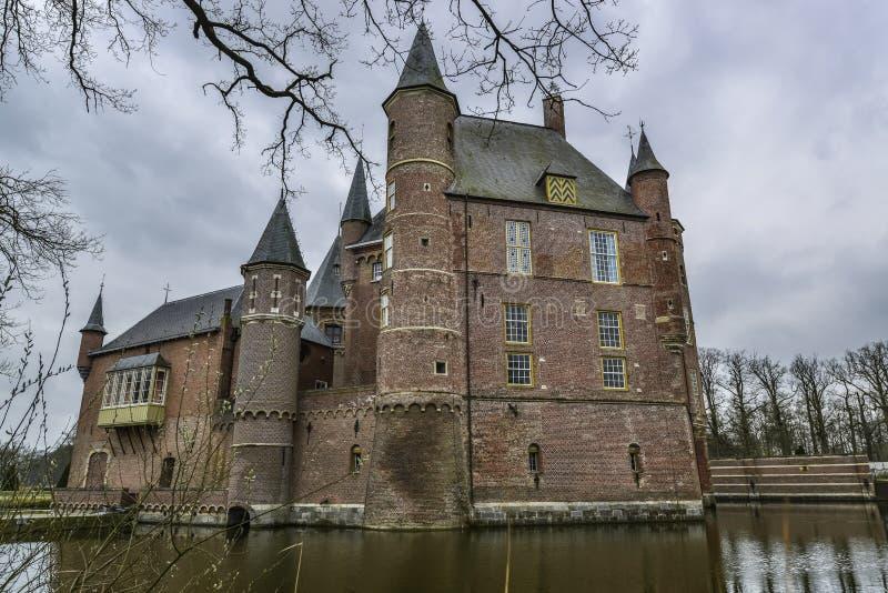 Dutch castle heeswijk royalty free stock photo