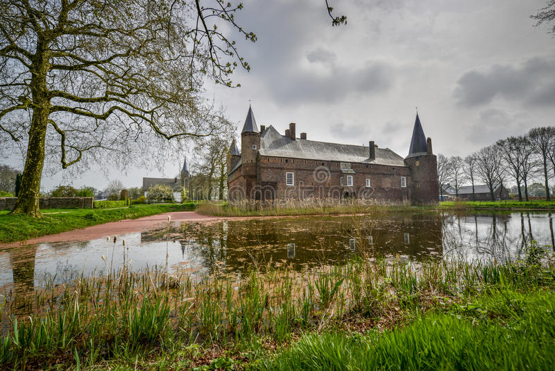 Dutch castle hernen royalty free stock images