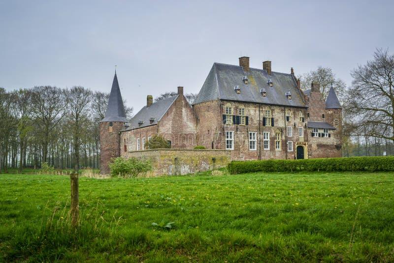 Dutch castle hernen stock photos