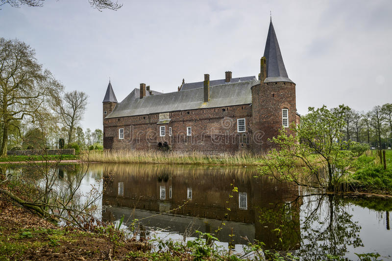 Dutch castle hernen royalty free stock image