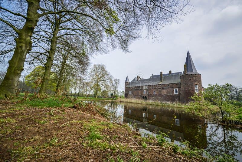 Dutch castle hernen stock image