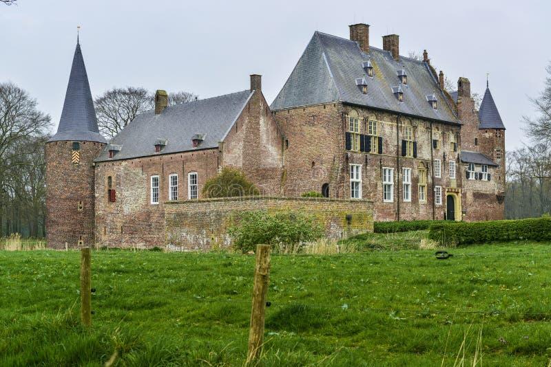 Dutch castle hernen stock photography