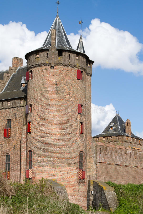 Dutch Castle Muiderslot Royalty Free Stock Photos