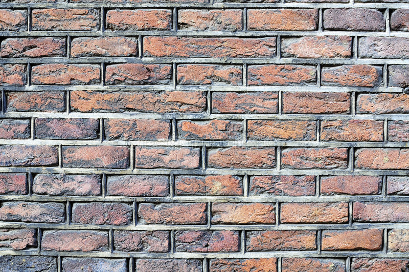 dutch ceglana ściana zdjęcie stock