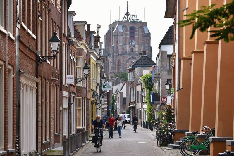 Dutch city of Leeuwarden royalty free stock image